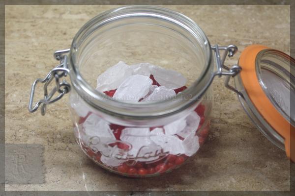 房酸塊 フサスグリ レッドカラント 砂糖漬け 20150607