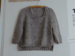 元気がでるセーター編みたい
