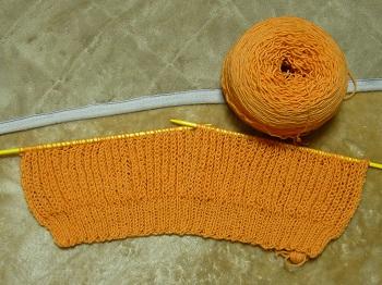 イギリスゴム編み1