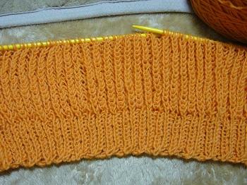 イギリスゴム編み2