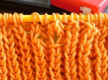 イギリスゴム編み4