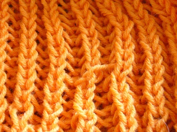 イギリスゴム編み5