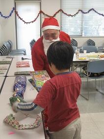クリスマス会・プレゼント(縮小)