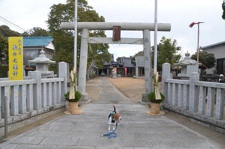20150101浜の七福神 八坂神社01