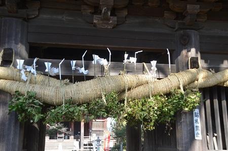 20150108しもふさ七福神 龍正院18