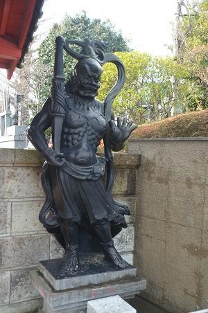 20150127八千代八福神 長福寺(寿老人)05
