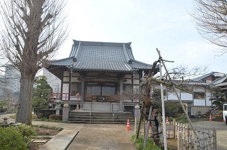 20150127八千代八福神 長福寺(寿老人)10