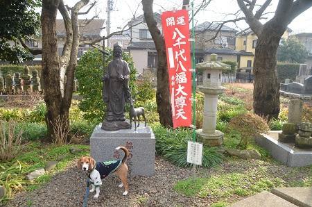 20150127八千代八福神 長福寺(寿老人)07