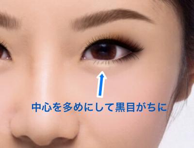 黒目がちな目を作るマスカラの入れ方