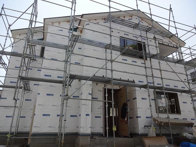 ルルーディア山本8丁目Ⅱ2 1~6号棟が着々と完成に近づいてます!