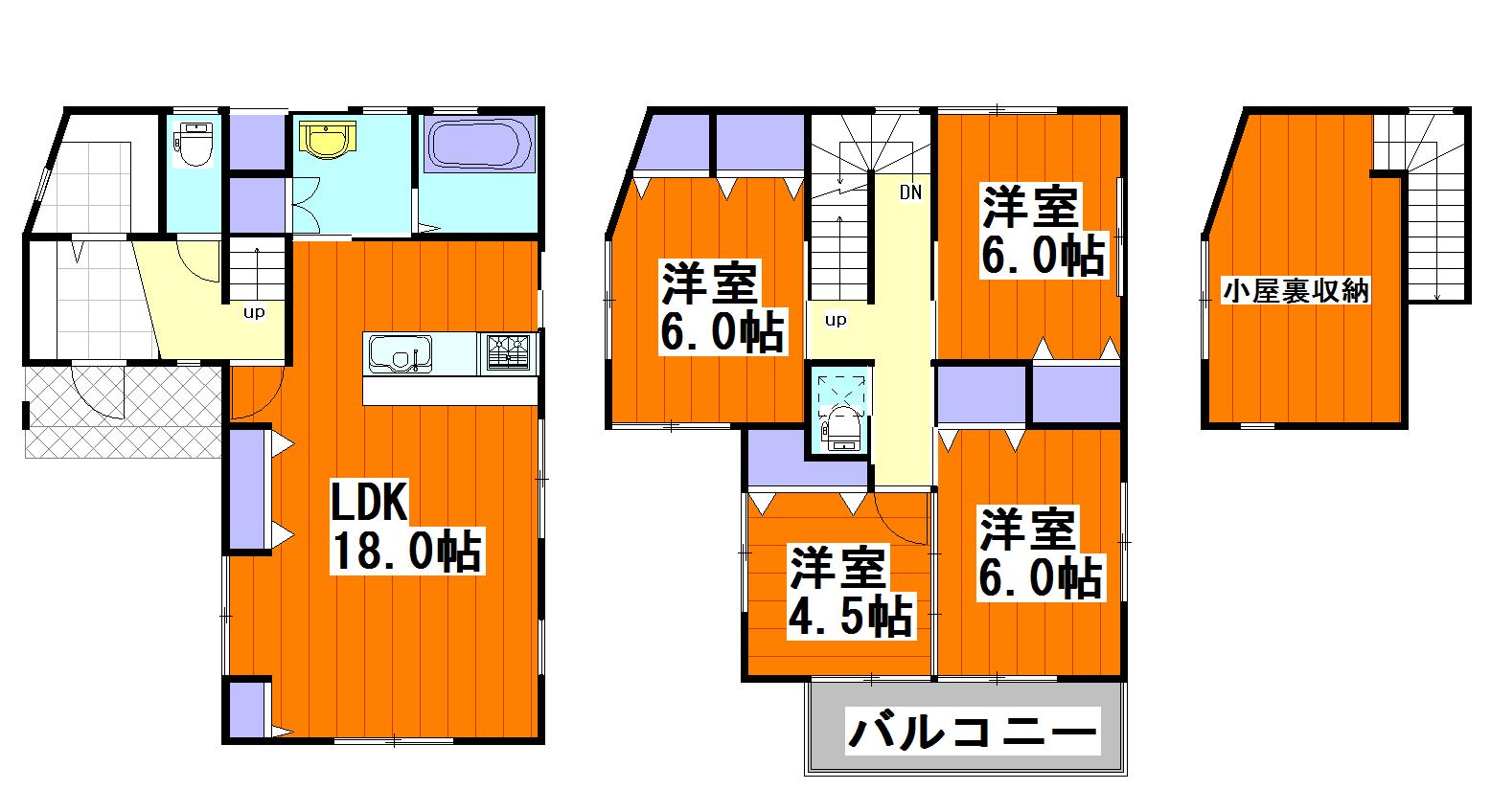 ルルーディア亀山2 堂々完成!!