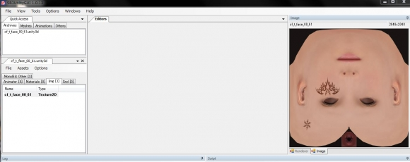 SB3UGS_v1.0.14alpha 作業画像