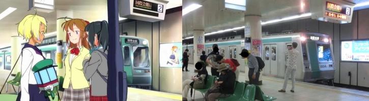 地下鉄に乗るっCM第二弾7
