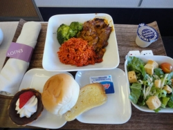 デルタ ビジネス 機内食