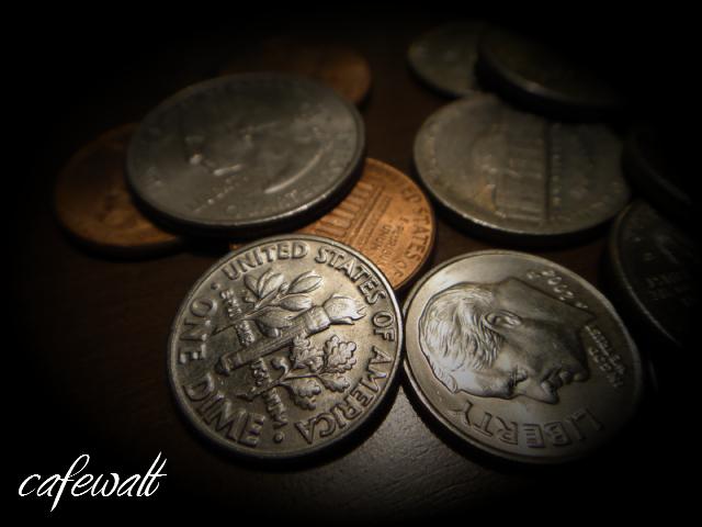 スクルージ 幸運の金貨 10セント 1