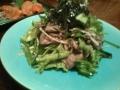 ひなた 牛タンと野菜の炒め物