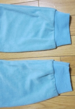 パジャマ裾