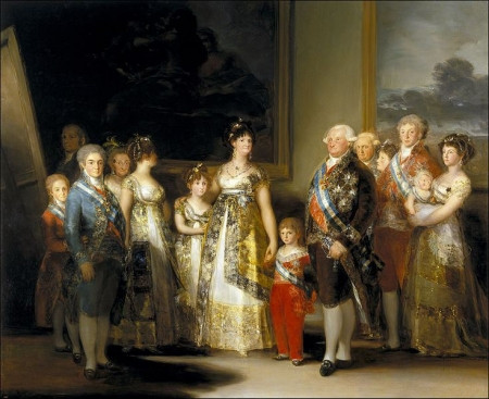 ゴヤ - カルロス4世の家族