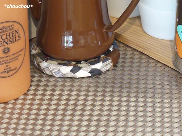 コーヒーポット マット