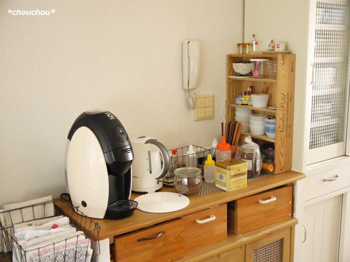 コーヒー棚 before