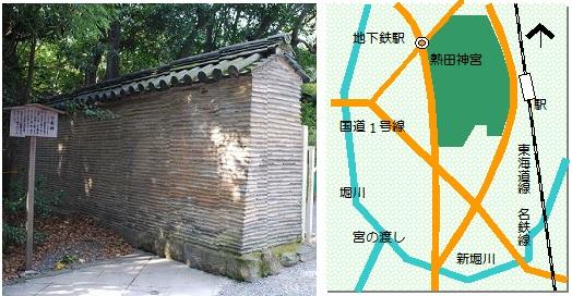 熱田神宮マップ