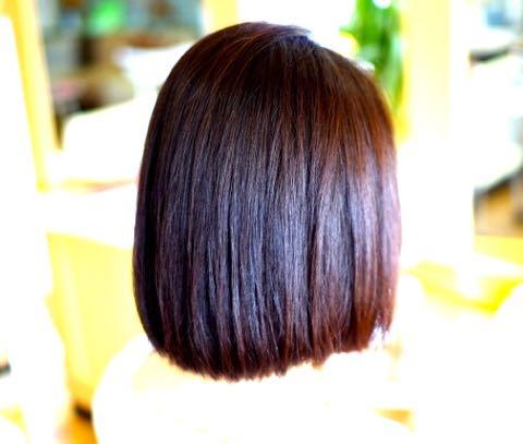 すっぴん髪 素髪