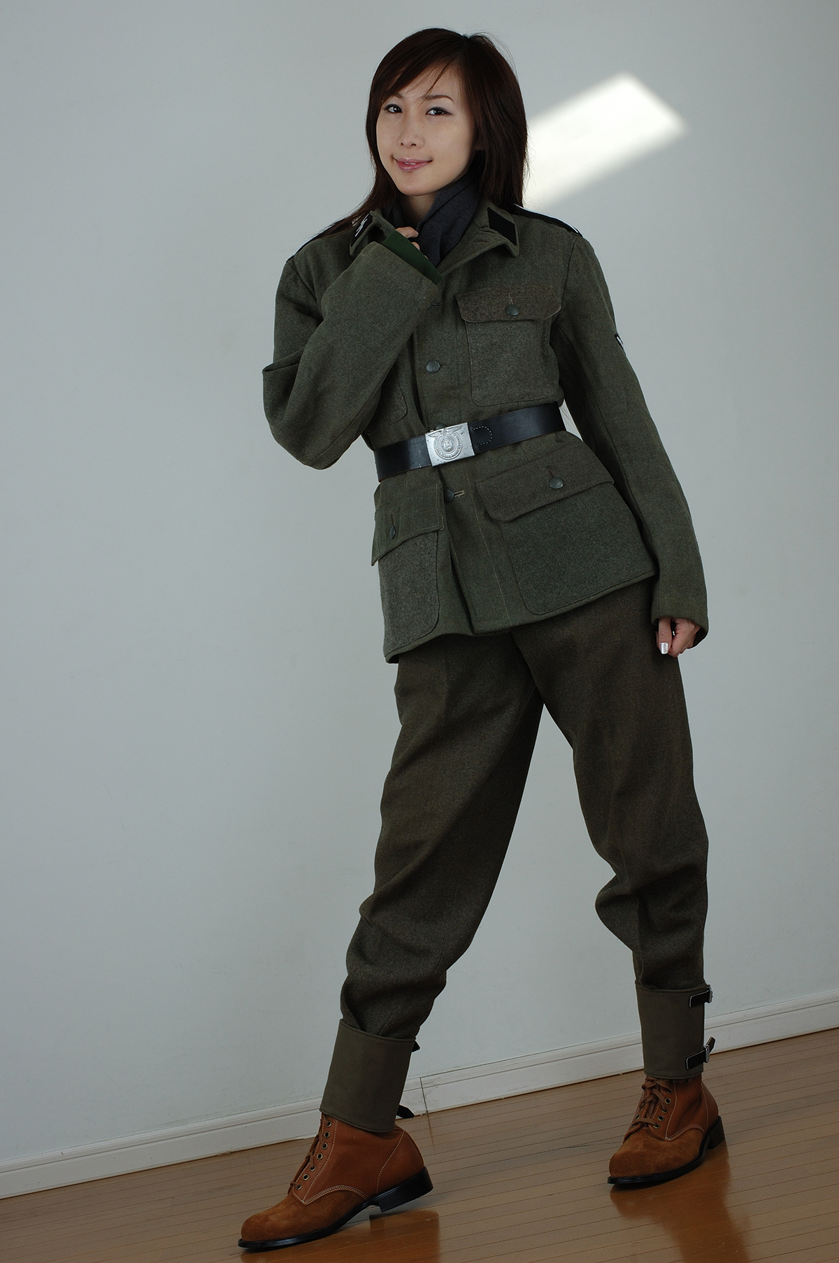 スウェーデン軍改造M43型ウール軍服/サムズ製