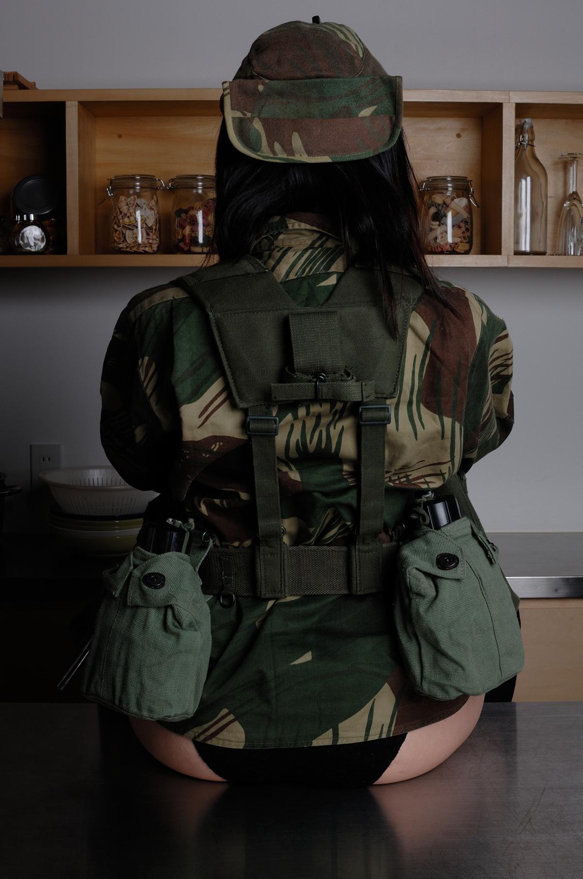 ローデシア装備/英軍P58装備代用