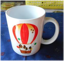 気球マグカップ
