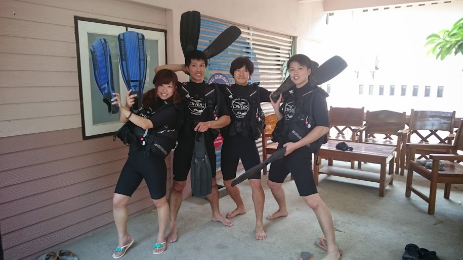タオ島 OW プール講習