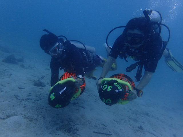 水中スクーター3