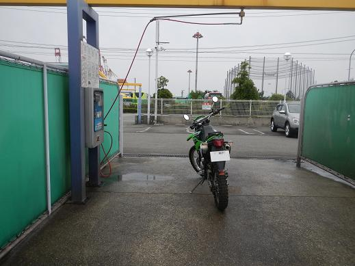KLX250洗車