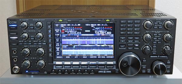 アイコムの最新、最高級リグ「IC-7851」がやってくる!!