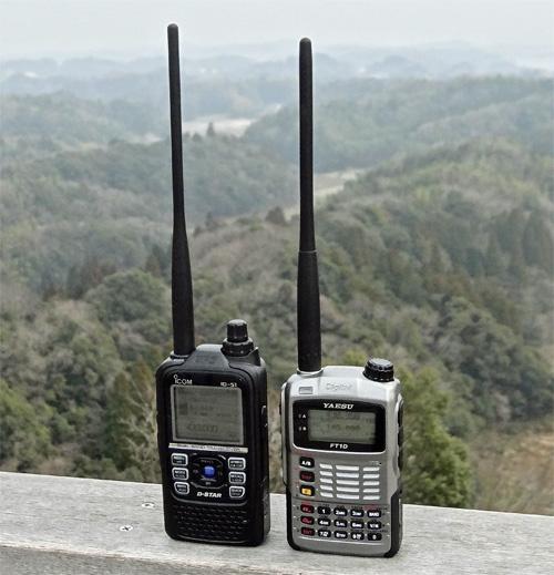アイコム・ID-51と八重洲無線・FT1D