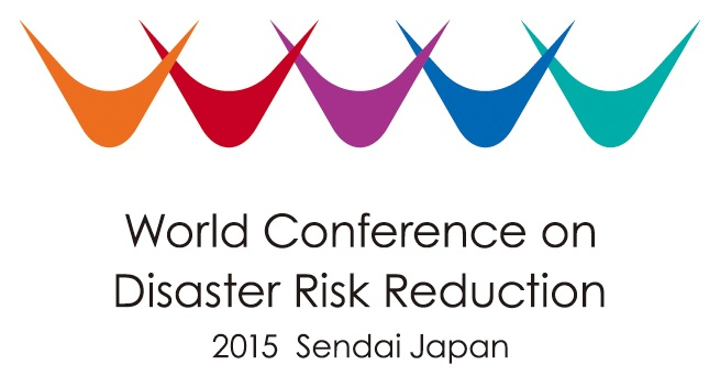 WCDRR 2015 logo header