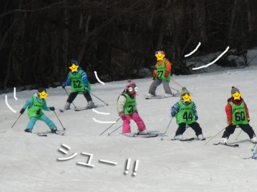 スキー最終日①