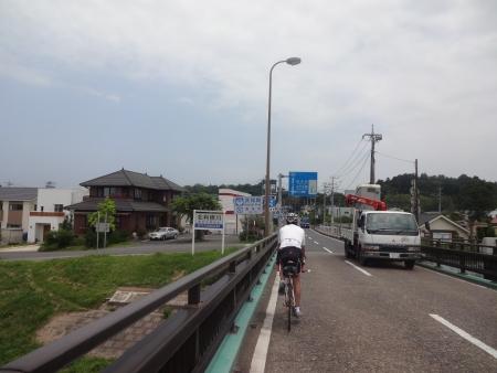 021そして北利根川を渡り、ここで茨城県潮来市へイン