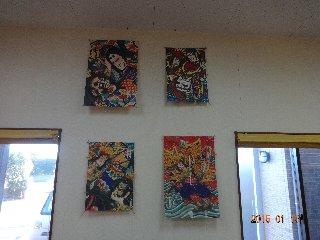 初詣 ブログ用 壁飾り 2