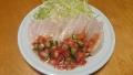 鶏むね肉のハム トマトドレッシング 20150616