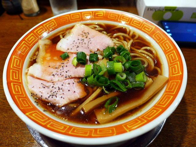 麺や 西や@01中華そば 1