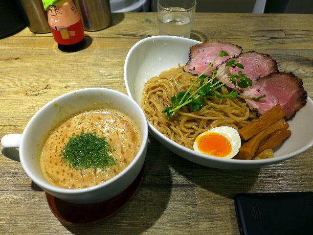 アノラーメン製作所@02Kani soup ツケメン 1