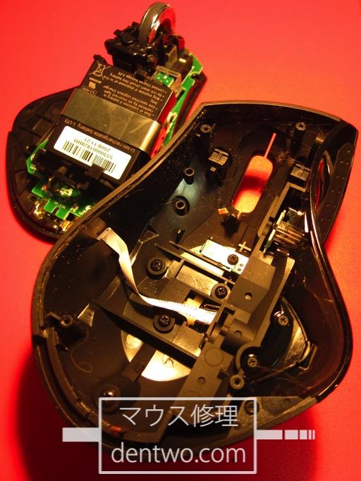 LogicoolMX-R(MXレボリューション)の分解画像です。Jan 28 2015IMG_0614