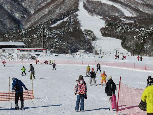 スキー日和の一日