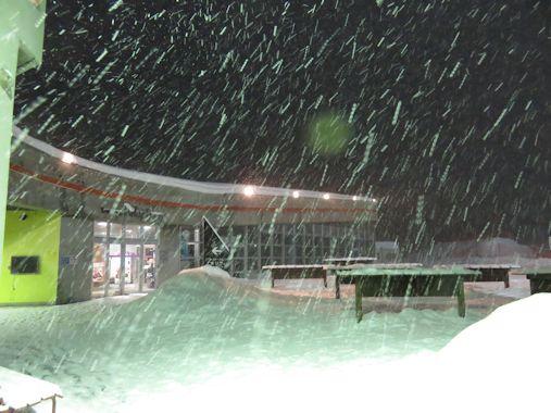 新雪・・・・そして-5℃