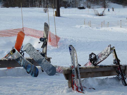 スキー立て
