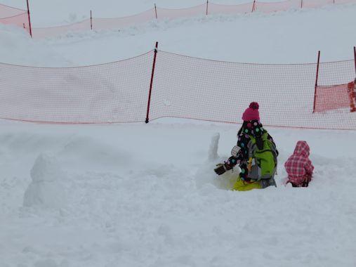 雪・・・・・楽しんでます