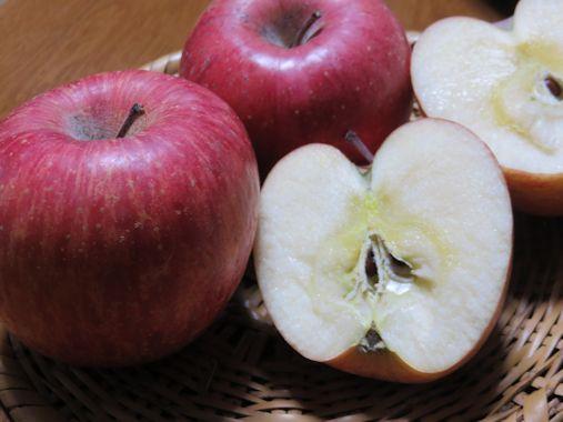 越冬 超熟リンゴ