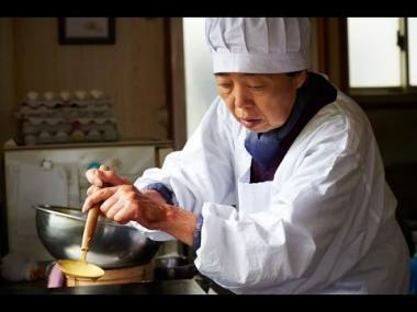 『あん』 樹木希林演じる徳江。ちょっと手に違和感はあるがごく普通の老女。