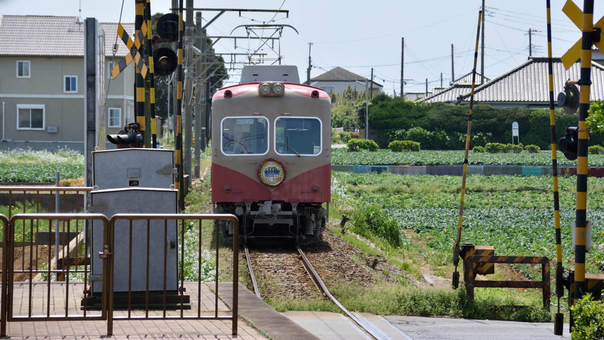 レトロチックな銚子電鉄