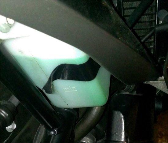 水漏れと油圧警告とクラッチと01